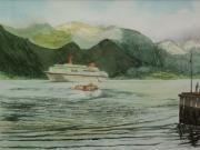 MS-Europa-in-Norwegen-2012-36x48-Aquarell