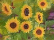 Sonnenblumen-2018-60x80-Oel