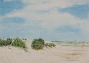 Spiekeroog-I-2012-45x64-Aquarell-Gouache