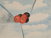 Tomaten-1992-36x48-Aquarell