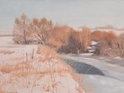 Winter-an-der-Nidder-1995-50x70-Oel