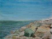 Atlantikkueste-2012-36x48-Aquarell
