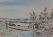 Kuhgraben-1950-52-24x32-Aquarell