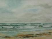 Nordsee-Brandung-2012-36x48-Aquarell-IPB