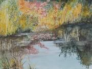 Tuempel-im-Herbst-2014-36x48-Aquarell